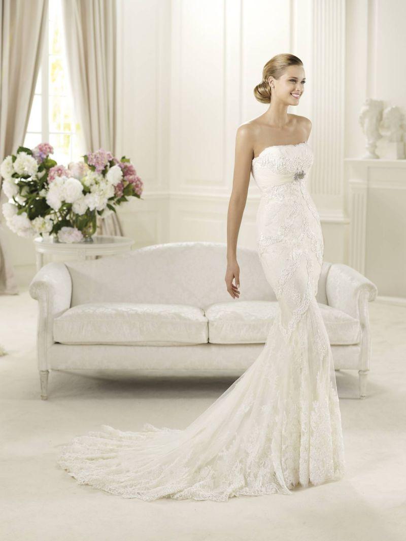 Pronovias előfoglalás - La Mariée esküvői ruhaszalon: Dietrich eskövői ruha