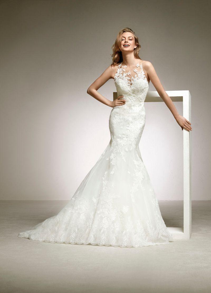 Pronovias 2018 menyasszonyi ruha kollekció: Diuca menyasszonyi ruha