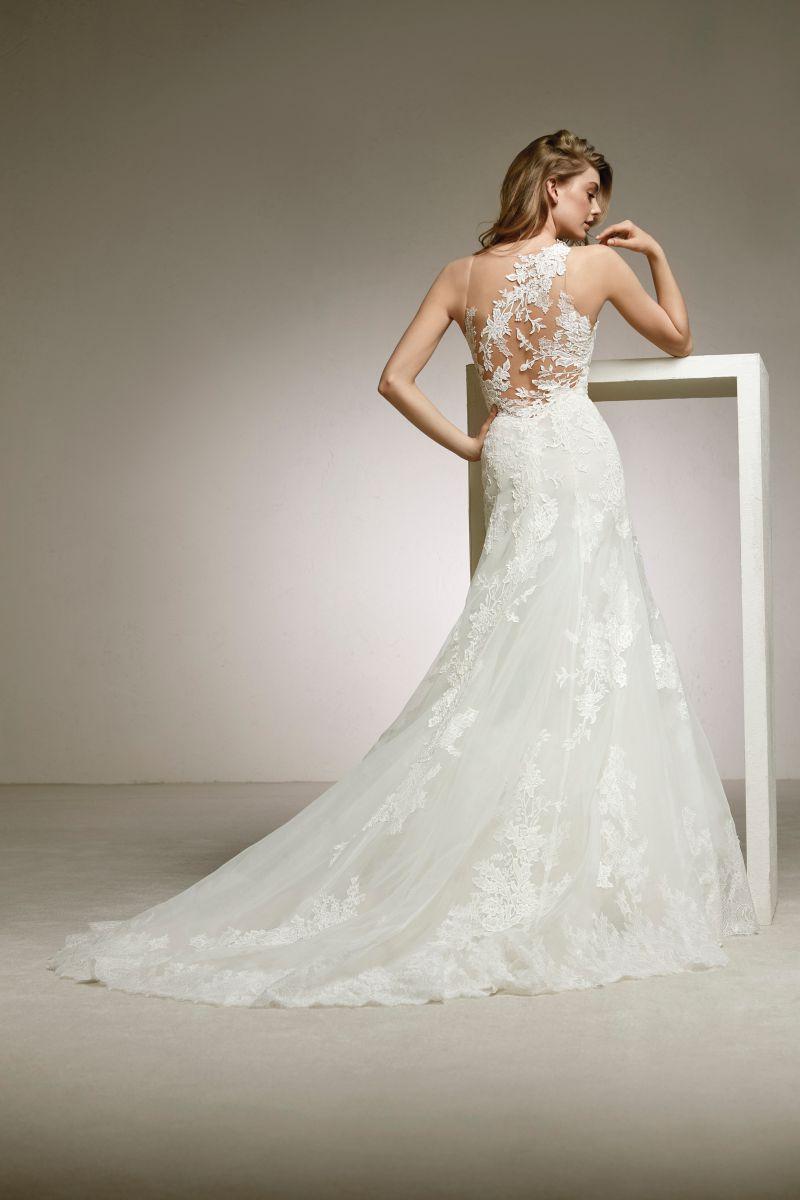 Pronovias 2018 menyasszonyi ruha kollekció: Diuca eskövői ruha