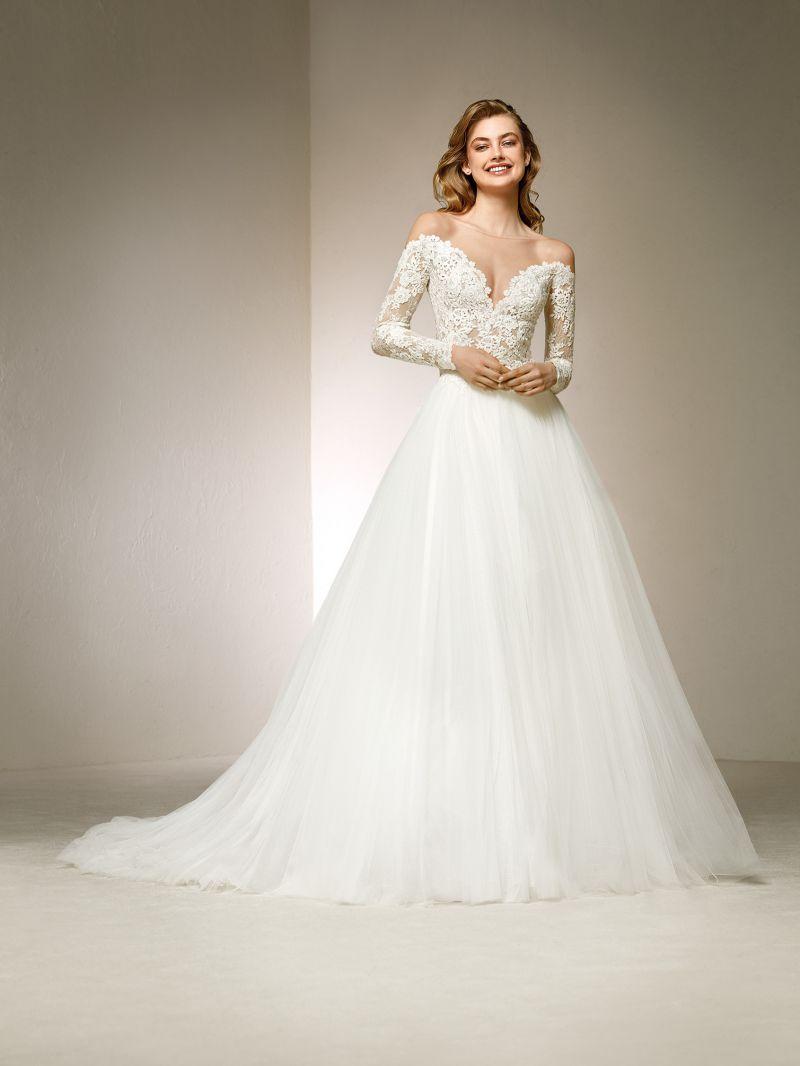 Pronovias 2018 menyasszonyi ruha kollekció: Divina menyasszonyi ruha