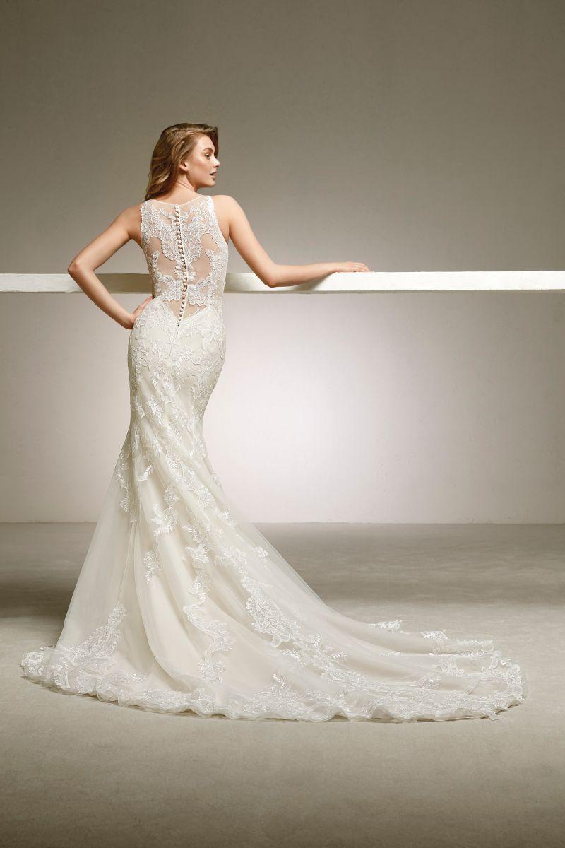 Pronovias 2018 menyasszonyi ruha kollekció: Dogal eskövői ruha
