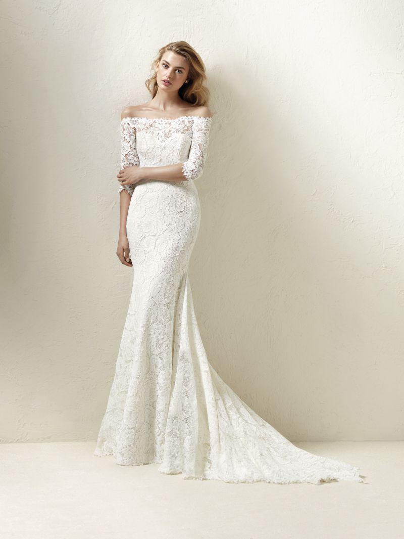 Pronovias 2018 menyasszonyi ruha kollekció: Dracane menyasszonyi ruha