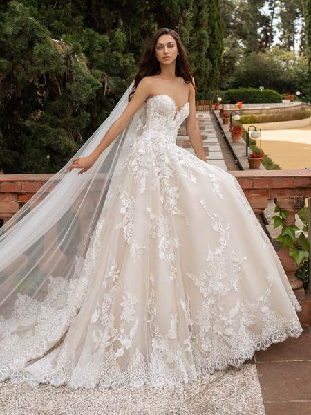 Esküvői ruha bérlés, vásárlás – Pronovias 2021-es kollekció: Elcira menyasszonyi ruha