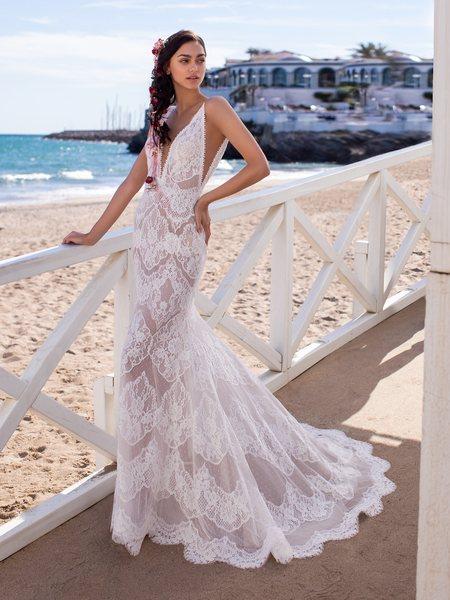 Esküvői ruha bérlés, vásárlás – Pronovias 2021-es kollekció: Eris menyasszonyi ruha