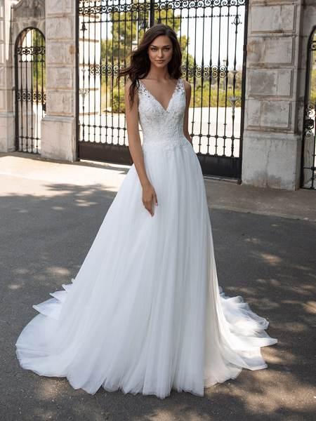 Esküvői ruha bérlés, vásárlás – Pronovias 2021-es kollekció: Estambul menyasszonyi ruha