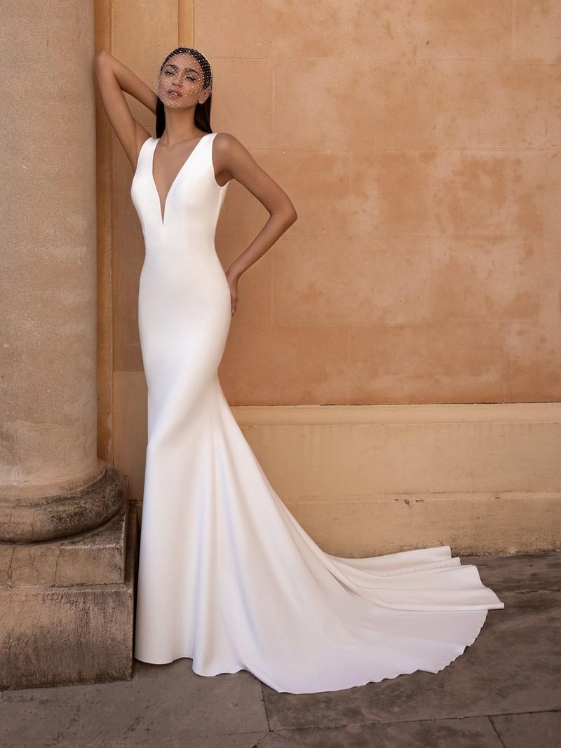 Esküvői ruha bérlés, vásárlás – Pronovias 2021-es kollekció: Eureka menyasszonyi ruha