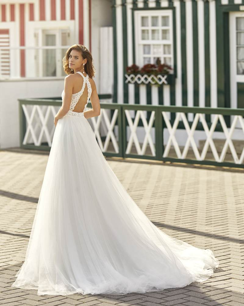 Rosa Clará 2021-es menyasszonyi ruha kollekció vásárlás, bérlés: Hanna eskövői ruha
