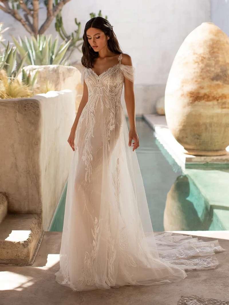 Esküvői ruha bérlés, vásárlás – Pronovias 2021-es kollekció: Hunter menyasszonyi ruha