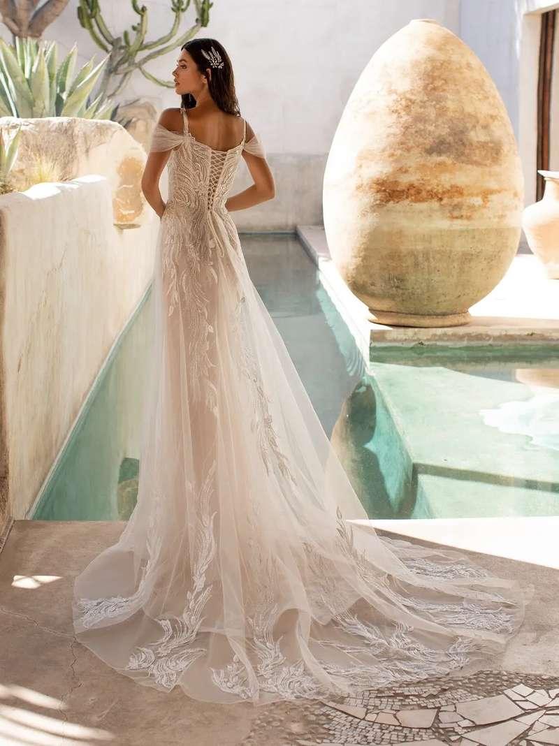 Esküvői ruha bérlés, vásárlás – Pronovias 2021-es kollekció: Hunter eskövői ruha