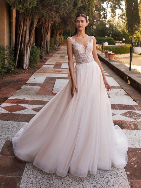 Esküvői ruha bérlés, vásárlás – Pronovias 2021-es kollekció: Io menyasszonyi ruha