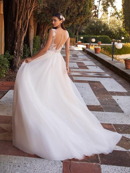 Esküvői ruha bérlés, vásárlás – Pronovias 2021-es kollekció: Io eskövői ruha