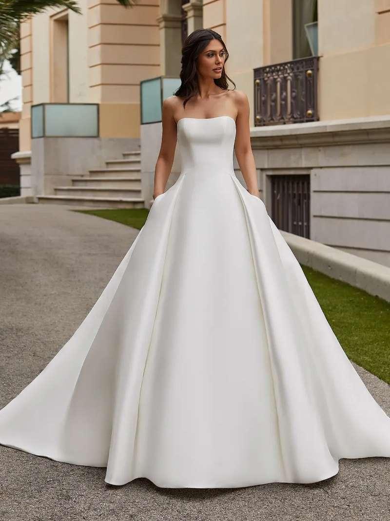 Esküvői ruha bérlés, vásárlás – Pronovias 2021-es kollekció: Jory menyasszonyi ruha