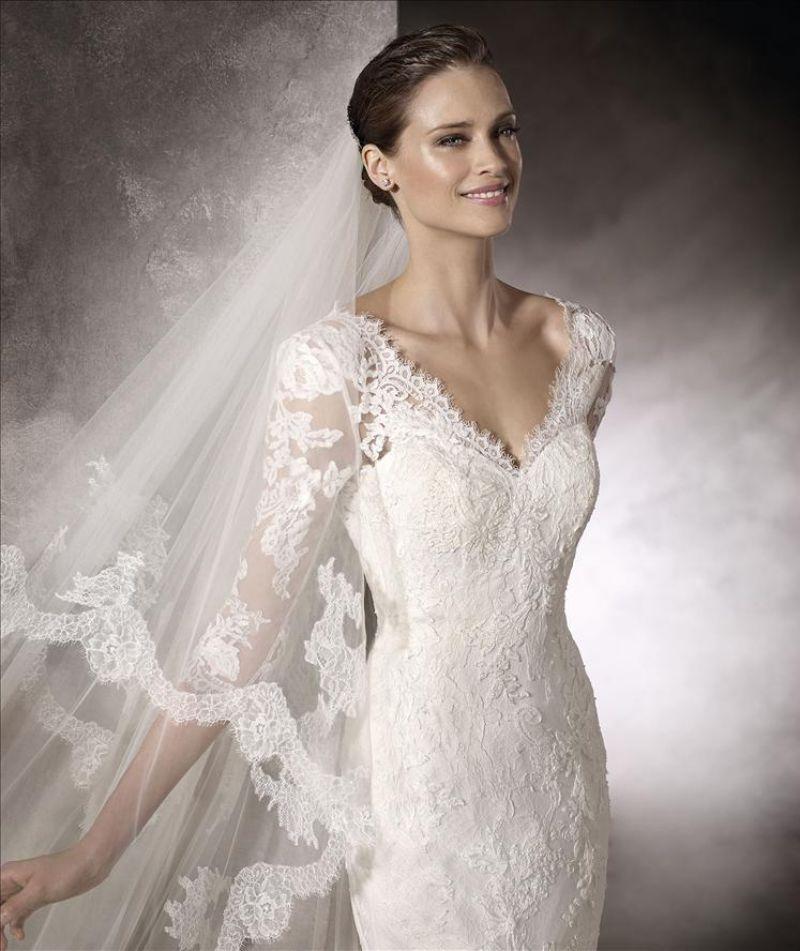 5801ef9755 ... Pronovias előfoglalás - La Mariée esküvői ruhaszalon: Kay eskövői ruha