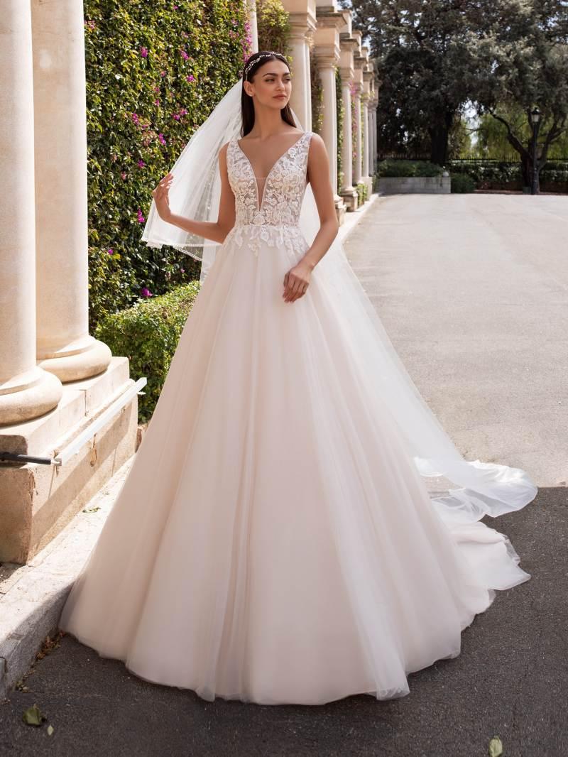 Esküvői ruha bérlés, vásárlás – Pronovias 2021-es kollekció: Kerberos menyasszonyi ruha