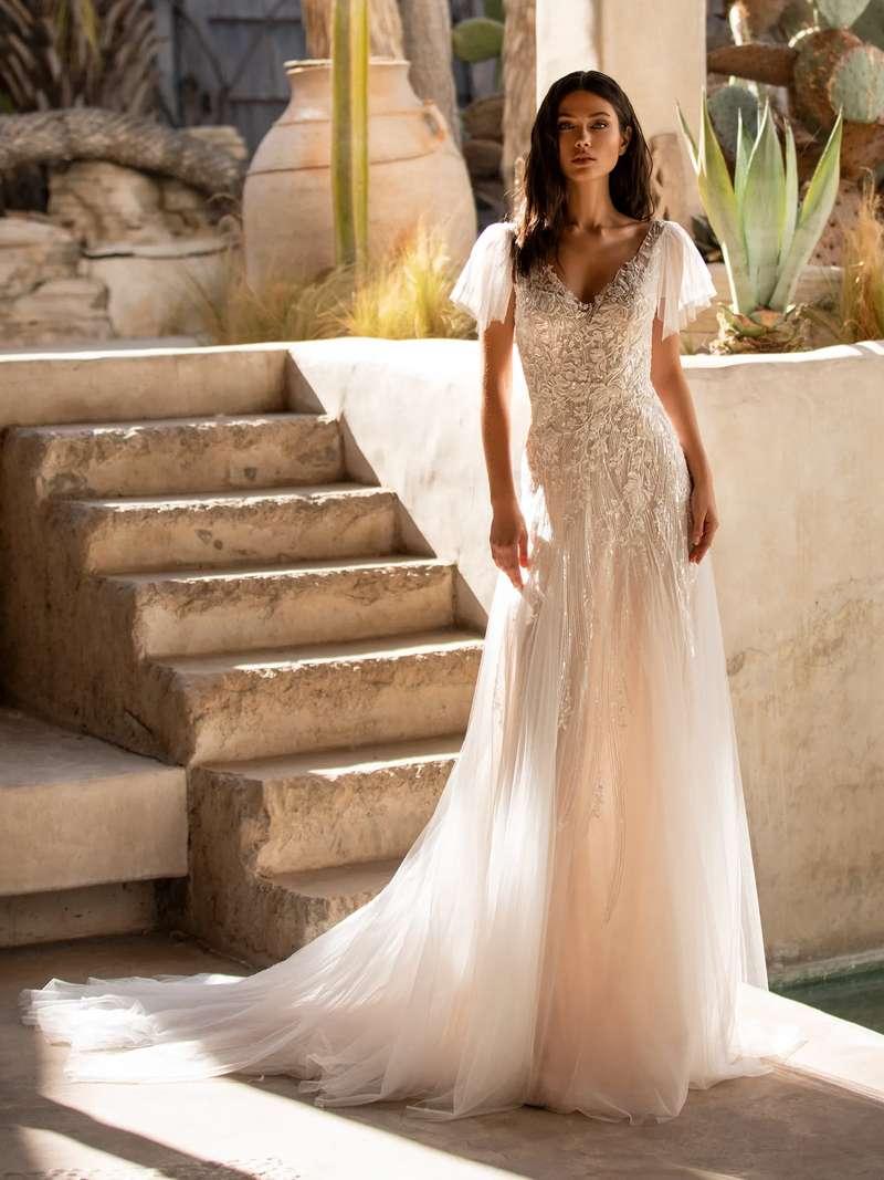 Esküvői ruha bérlés, vásárlás – Pronovias 2021-es kollekció: Lake menyasszonyi ruha