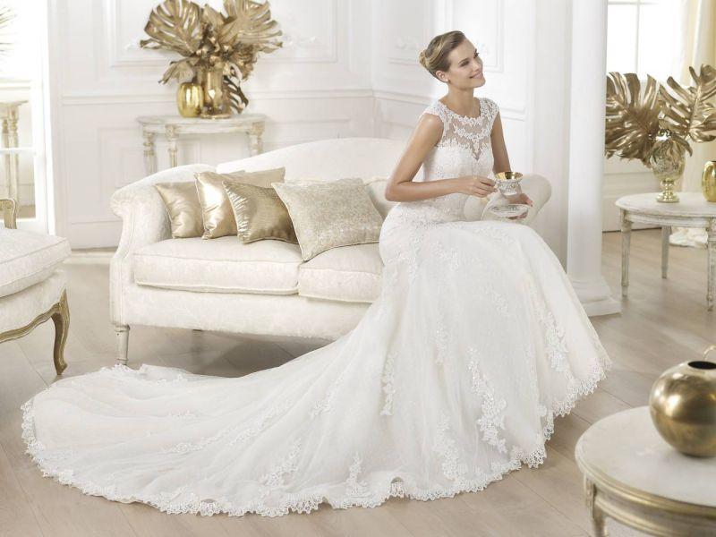 Pronovias előfoglalás - La Mariée esküvői ruhaszalon: Landel menyasszonyi ruha