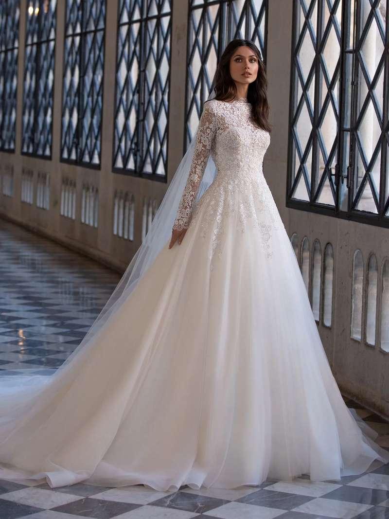 Esküvői ruha bérlés, vásárlás – Pronovias 2021-es kollekció: Landis menyasszonyi ruha