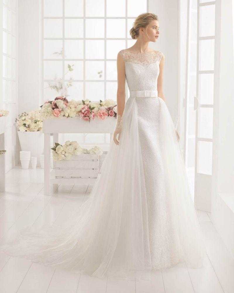 Rosa Clará Aire előfoglalási kedvezmények - La Mariée esküvői ruhaszalon Budapest: Marquesa menyasszonyi ruha