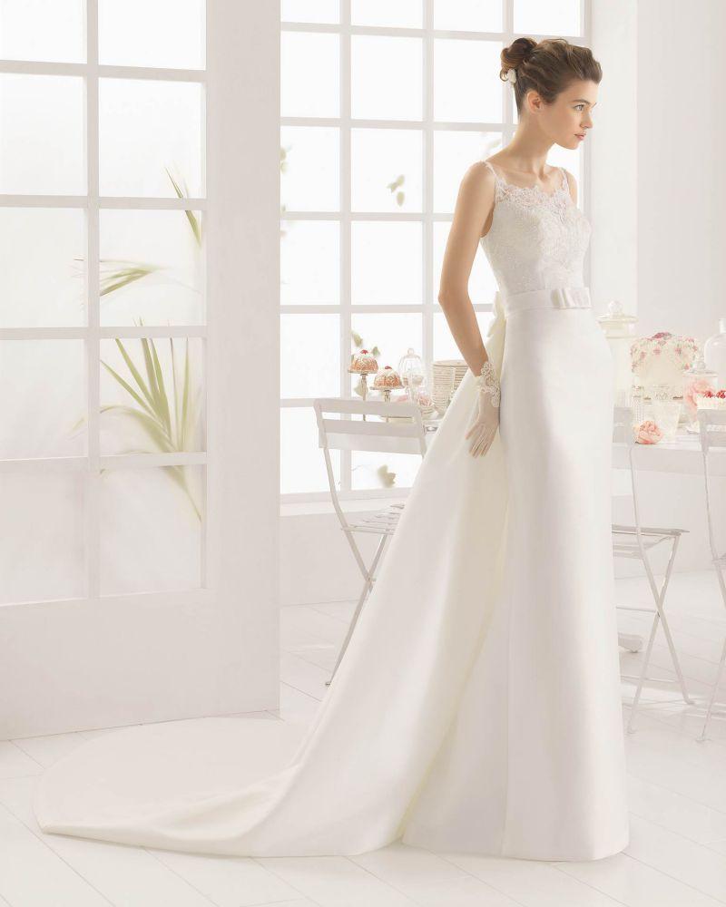 Rosa Clará Aire előfoglalási kedvezmények - La Mariée esküvői ruhaszalon Budapest: Melys menyasszonyi ruha