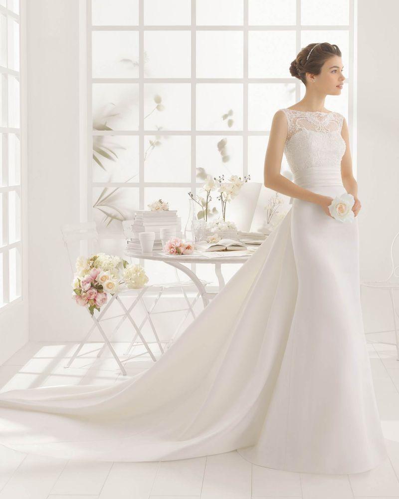 Rosa Clará Aire előfoglalási kedvezmények - La Mariée esküvői ruhaszalon Budapest: Memory menyasszonyi ruha