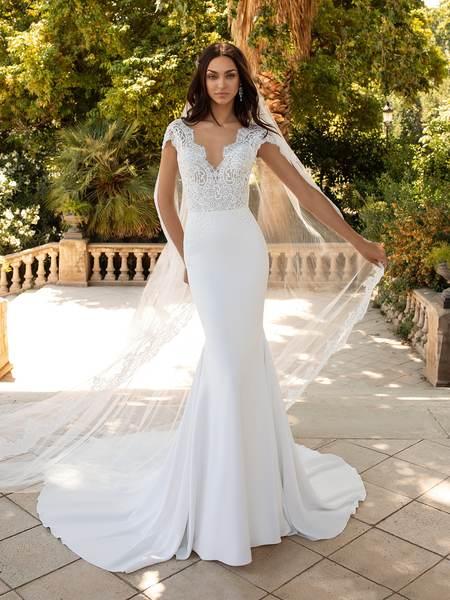 Esküvői ruha bérlés, vásárlás – Pronovias 2021-es kollekció: Milady menyasszonyi ruha