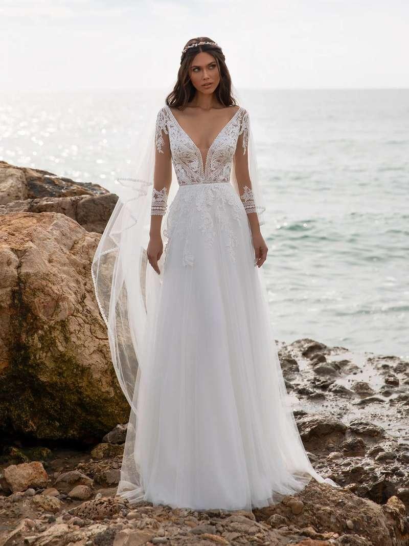 Esküvői ruha bérlés, vásárlás – Pronovias 2021-es kollekció: Miller menyasszonyi ruha