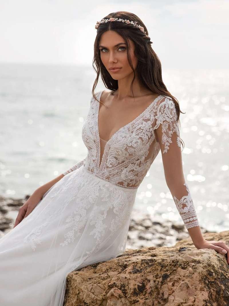 Esküvői ruha bérlés, vásárlás – Pronovias 2021-es kollekció: Miller eskövői ruha