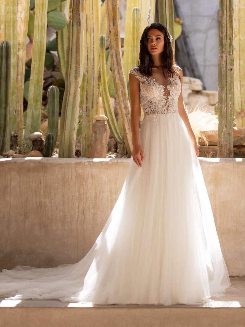 Esküvői ruha bérlés, vásárlás – Pronovias 2021-es kollekció: Mirren menyasszonyi ruha
