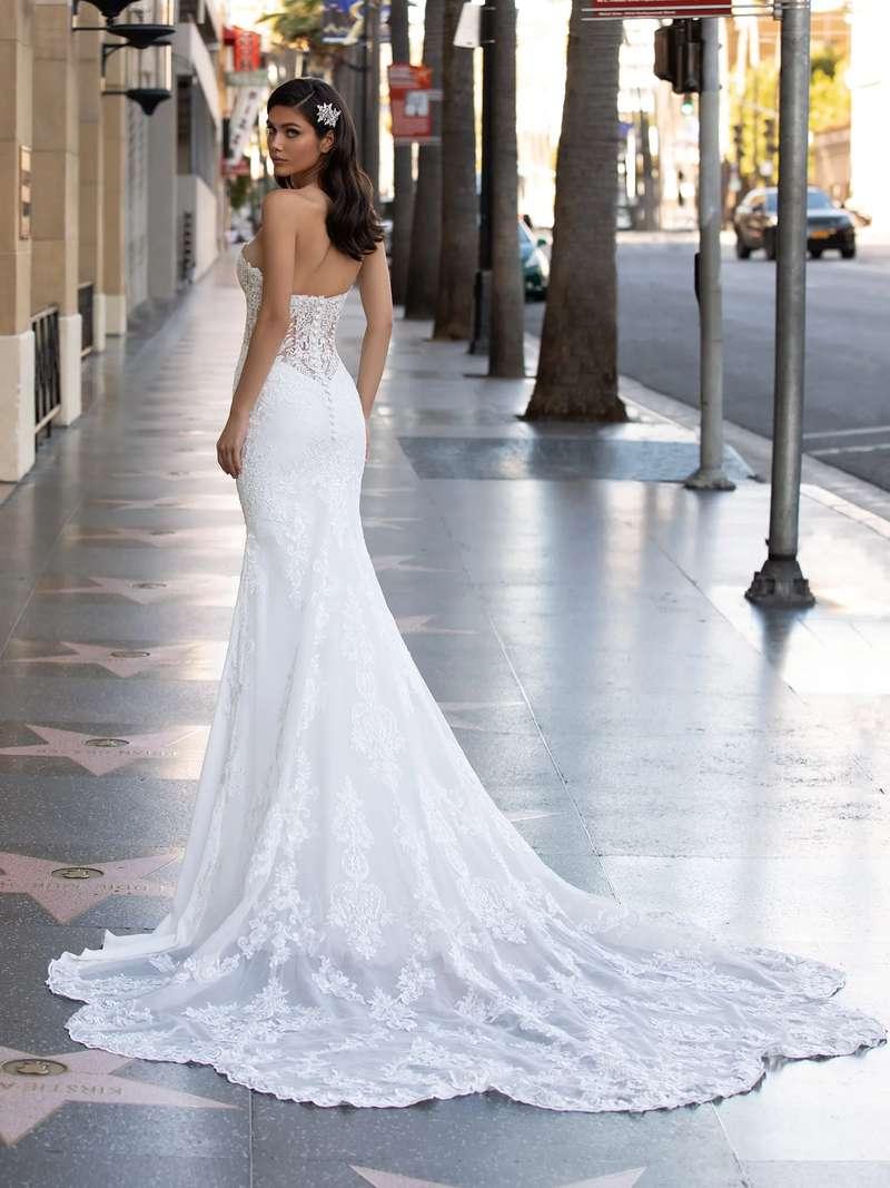 Esküvői ruha bérlés, vásárlás – Pronovias 2021-es kollekció: Monroe eskövői ruha