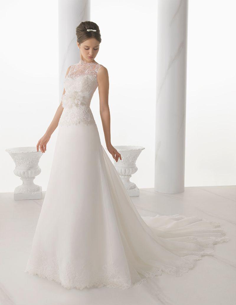 Rosa Clará Aire előfoglalási kedvezmények - La Mariée esküvői ruhaszalon Budapest: Niza menyasszonyi ruha