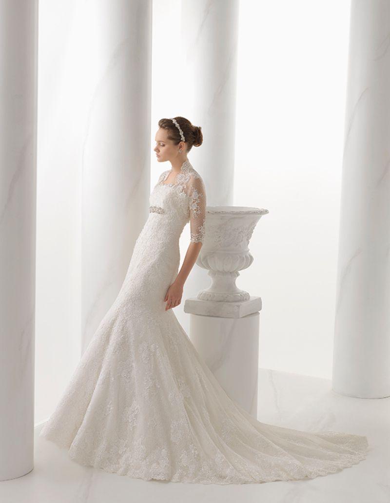 Rosa Clará Aire előfoglalási kedvezmények - La Mariée esküvői ruhaszalon Budapest: Nostalgia eskövői ruha