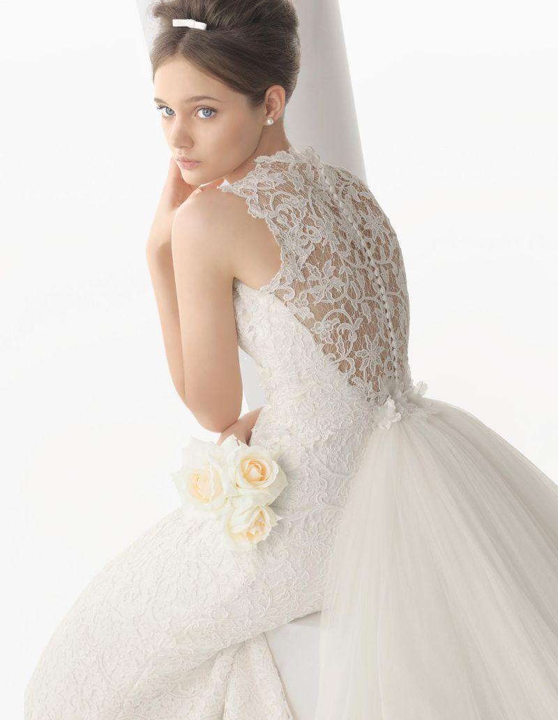 Rosa Clará Aire előfoglalási kedvezmények - La Mariée esküvői ruhaszalon Budapest: Nur menyasszonyi ruha