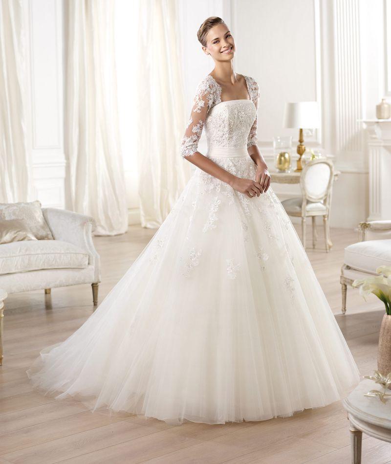 Pronovias előfoglalás - La Mariée esküvői ruhaszalon: Ocanto menyasszonyi ruha