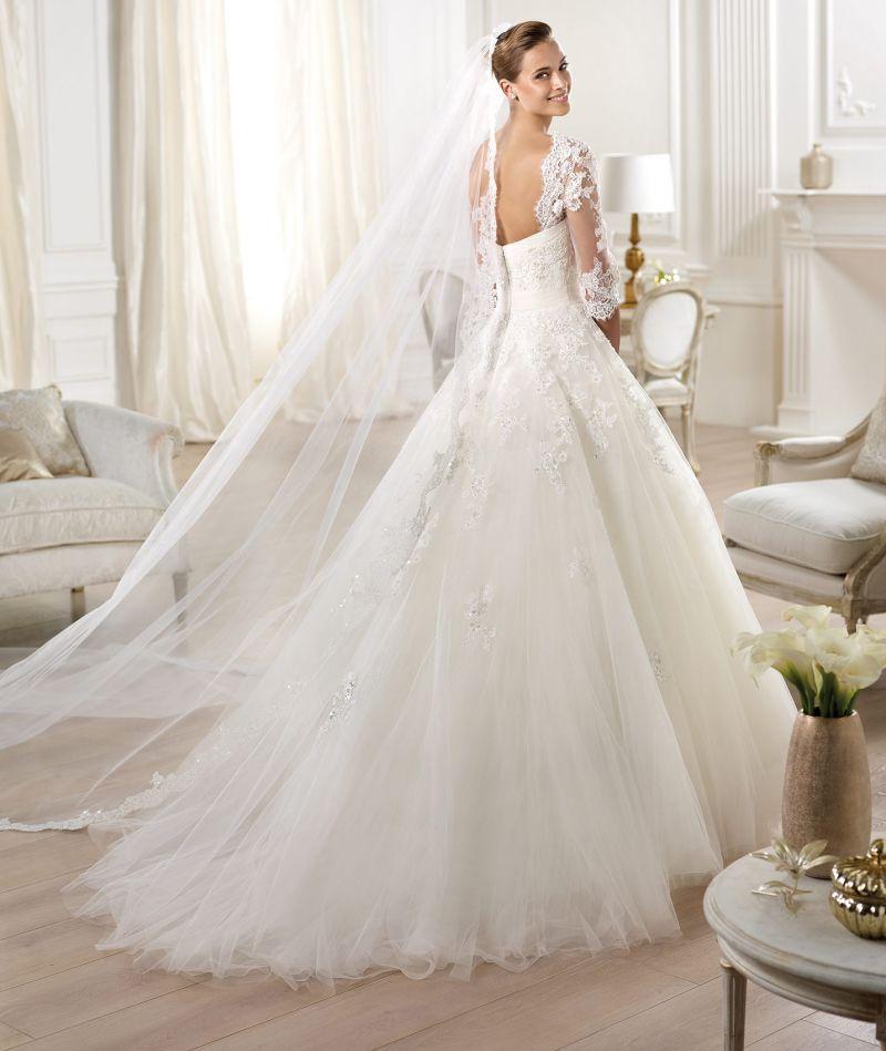 Pronovias előfoglalás - La Mariée esküvői ruhaszalon: Ocanto eskövői ruha