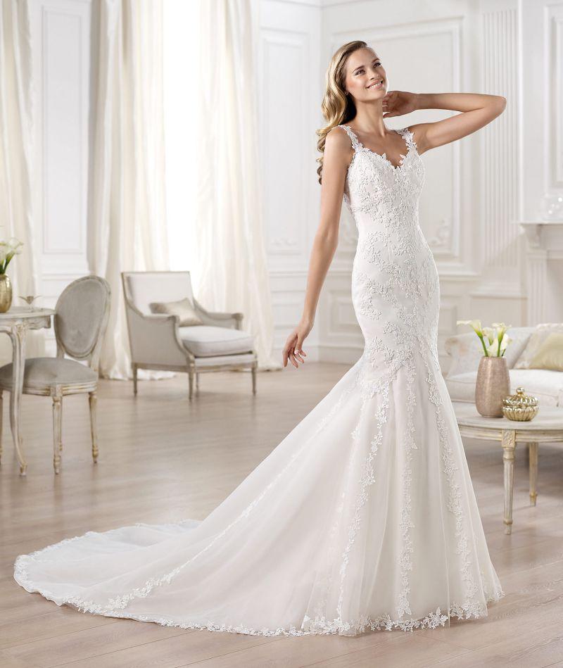 Pronovias előfoglalás - La Mariée esküvői ruhaszalon: Omilu menyasszonyi ruha