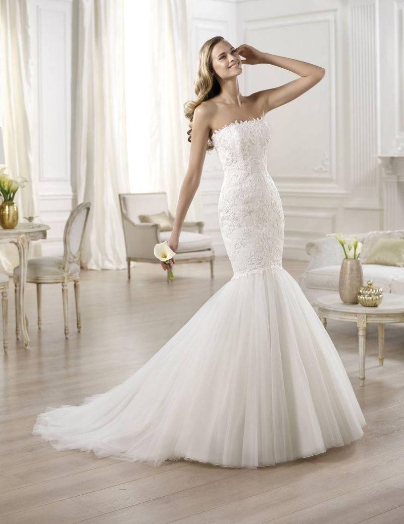 Pronovias előfoglalás - La Mariée esküvői ruhaszalon: Ona eskövői ruha