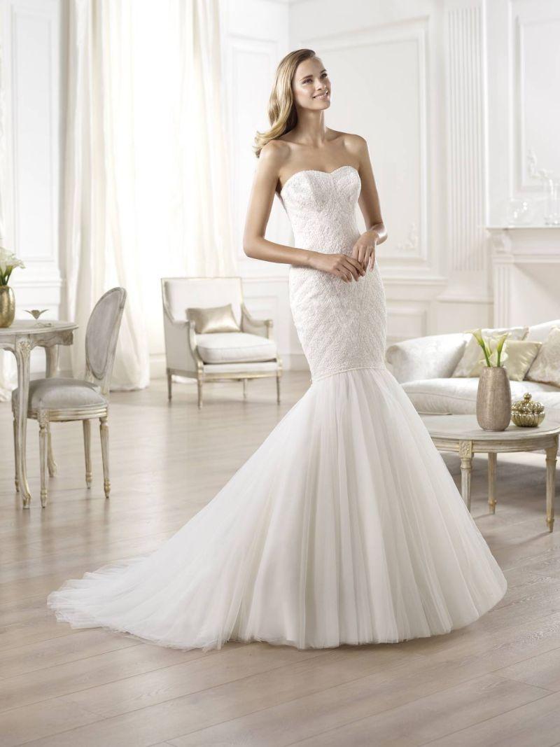 Pronovias előfoglalás - La Mariée esküvői ruhaszalon: Onega eskövői ruha