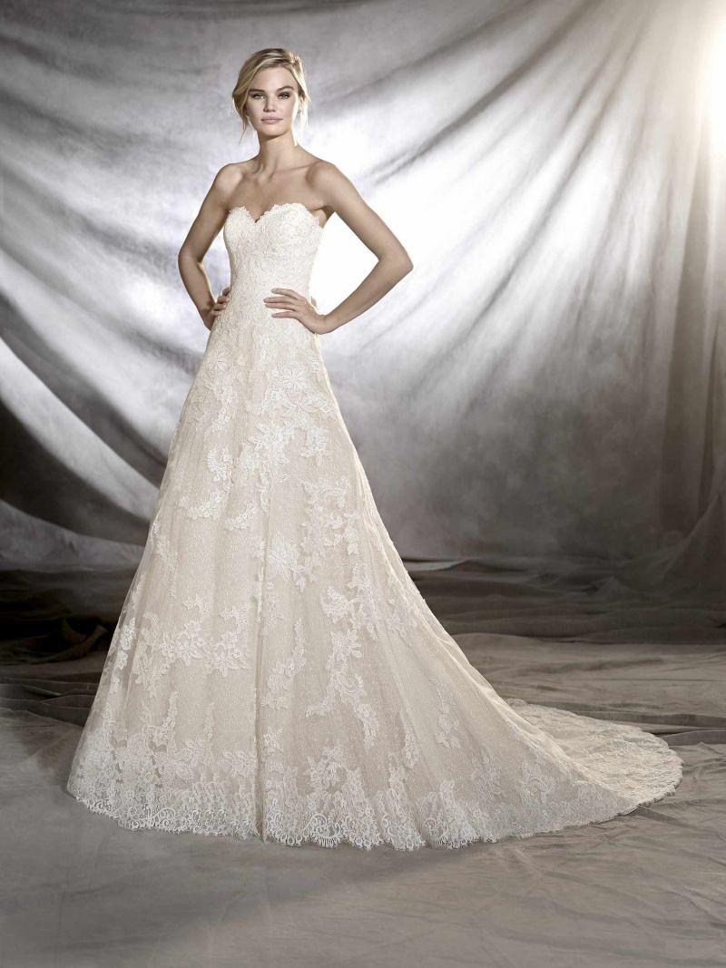 Pronovias 2018 menyasszonyi ruha kollekció: Onia eskövői ruha