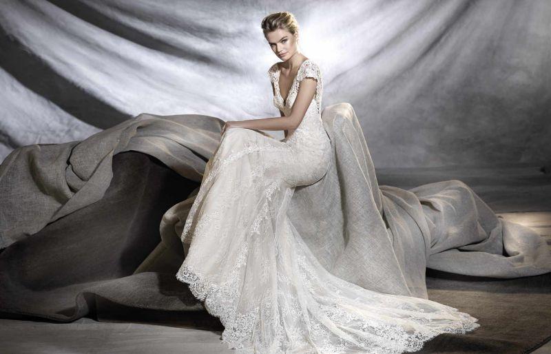 Pronovias 2018 menyasszonyi ruha kollekció: Osiris menyasszonyi ruha