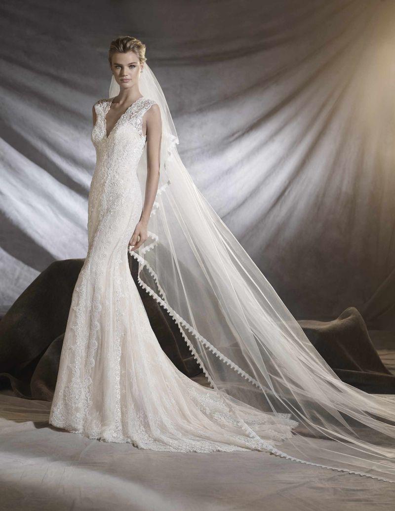 Pronovias 2018 menyasszonyi ruha kollekció: Osiris eskövői ruha