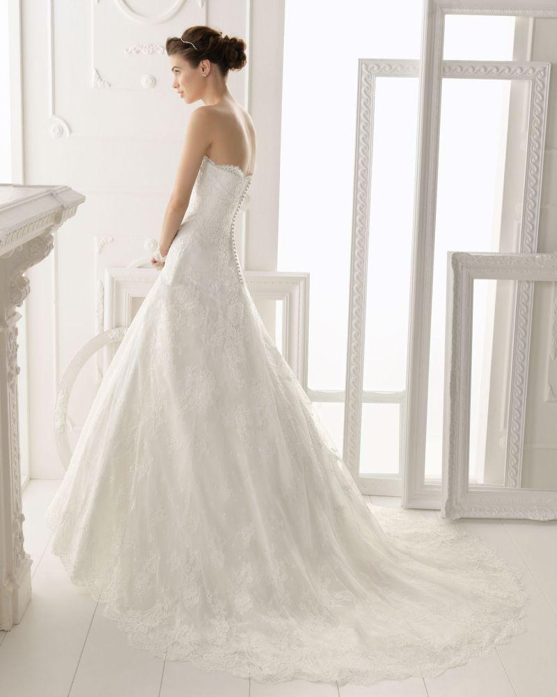 Rosa Clará Aire előfoglalási kedvezmények - La Mariée esküvői ruhaszalon Budapest: Overol eskövői ruha