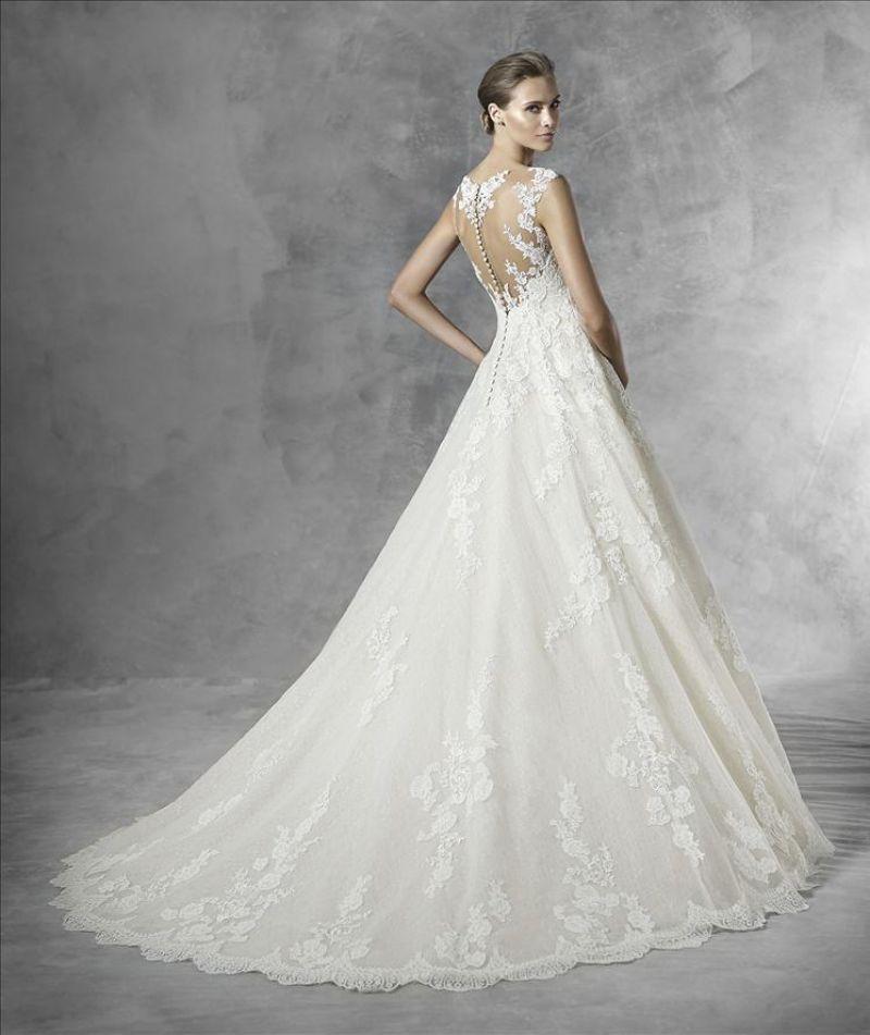 Pronovias 2018 menyasszonyi ruha kollekció: Primadona eskövői ruha