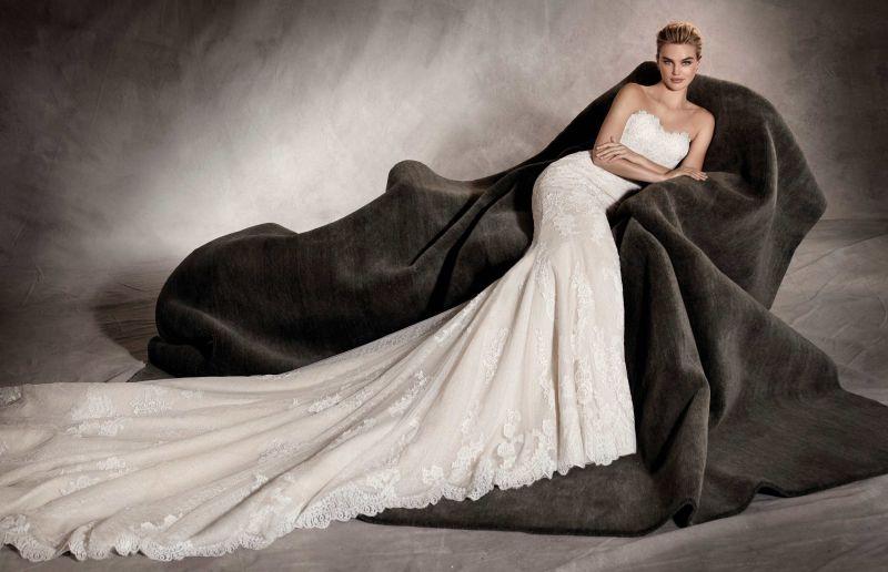 Pronovias 2018 menyasszonyi ruha kollekció: Princia menyasszonyi ruha