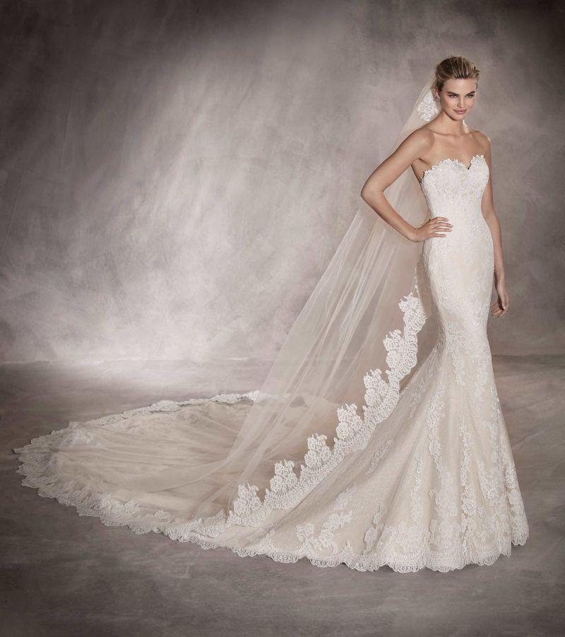 Pronovias 2018 menyasszonyi ruha kollekció: Princia eskövői ruha