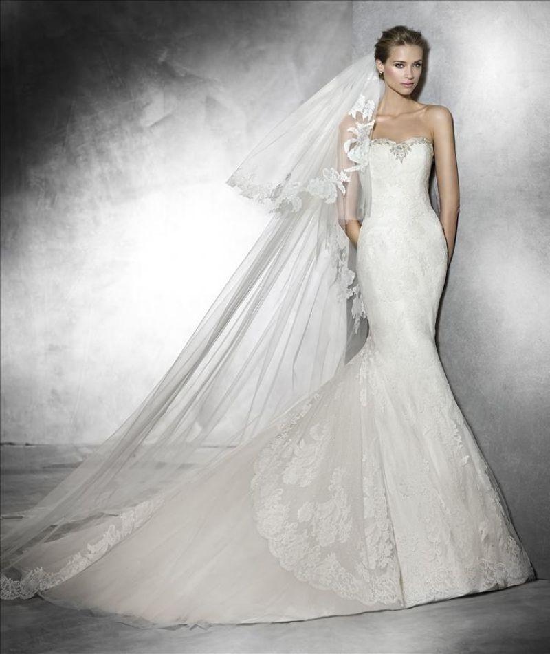 Pronovias előfoglalás - La Mariée esküvői ruhaszalon: Pruda menyasszonyi ruha