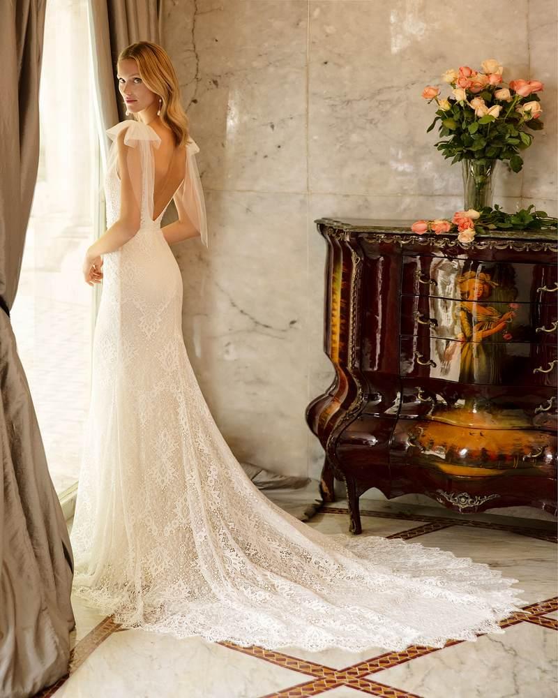 Rosa Clará 2021-es menyasszonyi ruha kollekció vásárlás, bérlés: Ringo eskövői ruha