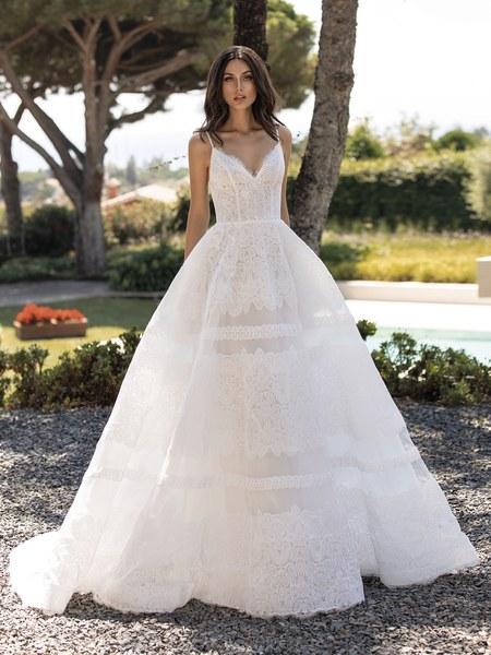 Esküvői ruha bérlés, vásárlás – Pronovias 2021-es kollekció: Rossana menyasszonyi ruha