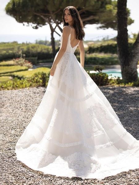 Esküvői ruha bérlés, vásárlás – Pronovias 2021-es kollekció: Rossana eskövői ruha