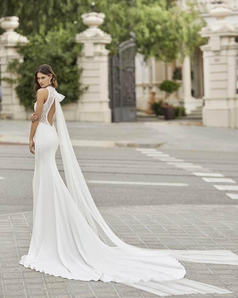 Rosa Clará 2021-es menyasszonyi ruha kollekció vásárlás, bérlés: Tamesis eskövői ruha