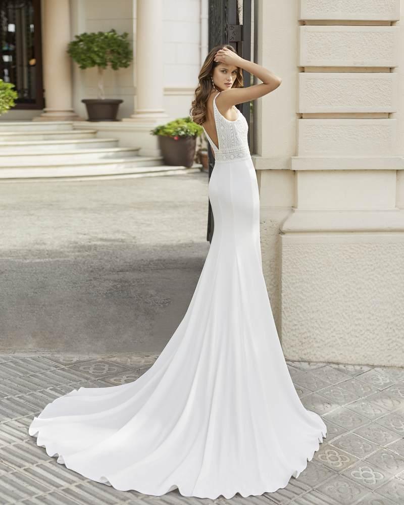 Rosa Clará 2021-es menyasszonyi ruha kollekció vásárlás, bérlés: Tango eskövői ruha